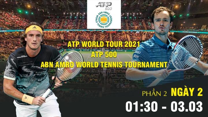 🎾 Ngày 2 - Phần 2: ATP World Tour 2021