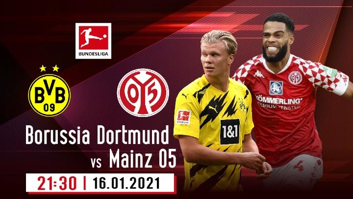 ⚽️ Borussia Dortmund vs Mainz 05
