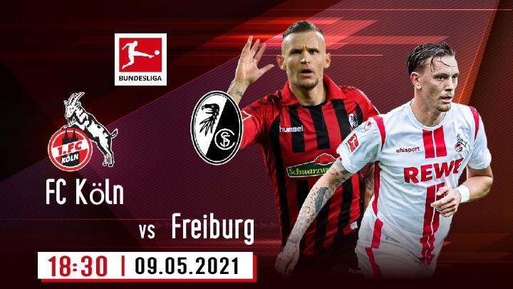 ⚽️ FC Köln - Sport-Club Freiburg
