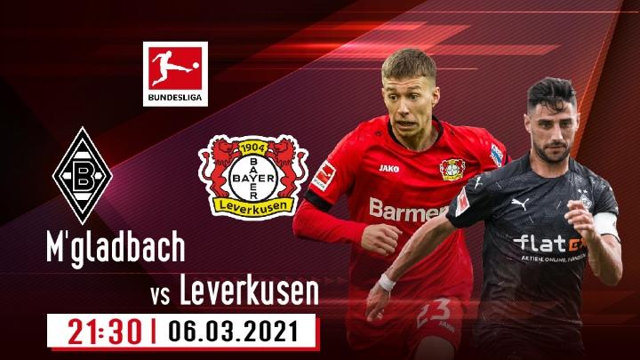 ⚽️ M'gladbach vs Bayer Leverkusen