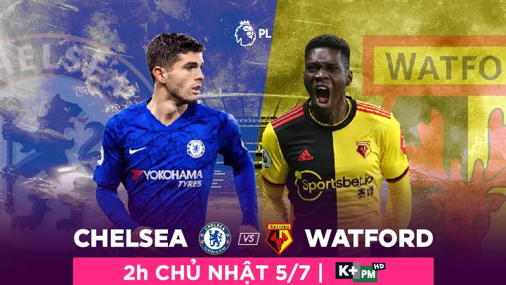 Chelsea  -  Watford