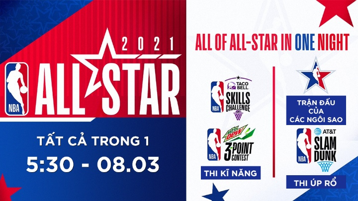 🏀 NBA 2020/21 All Stars