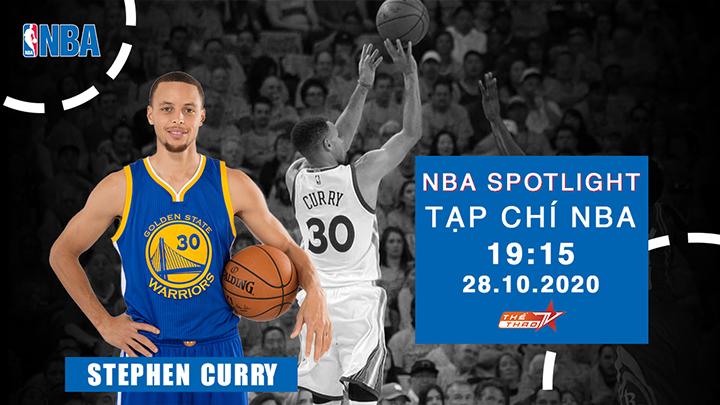 Tạp Chí NBA Stephen Curry