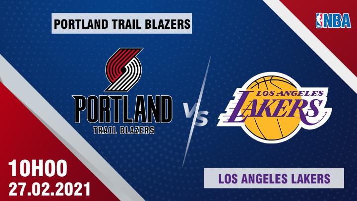🏀 Portland vs L.A. Lakers