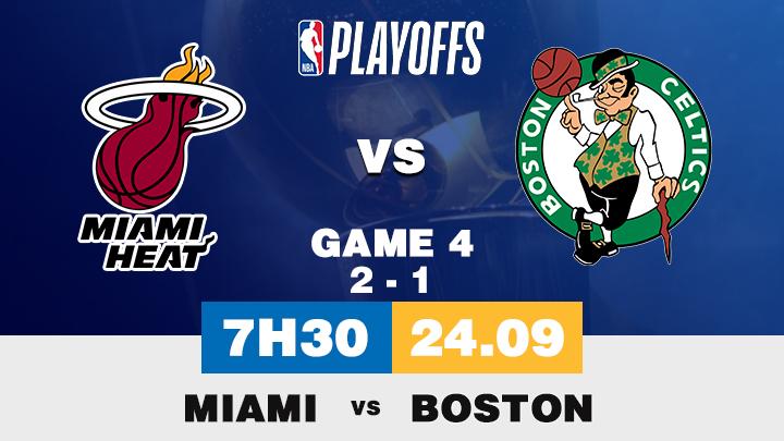 Bóng Rổ: Miami vs Boston
