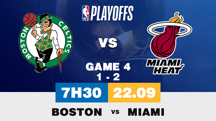 Bóng Rổ: Boston vs Miami
