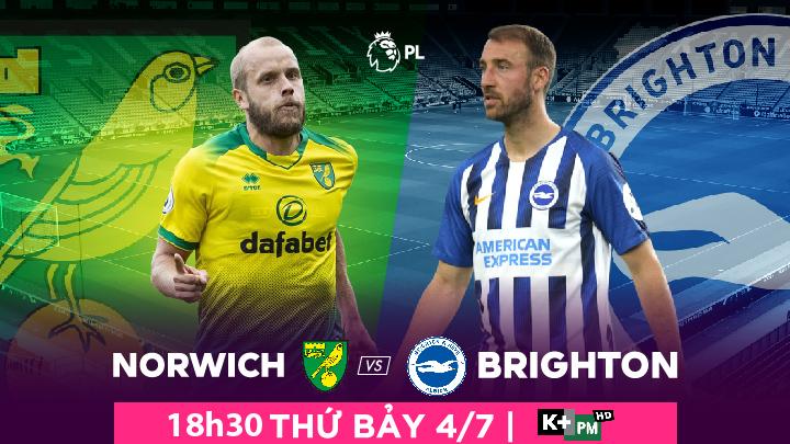 Norwich City  -  Brighton & Hove Albion