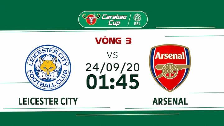 Bóng Đá: Leicester City vs Arsenal