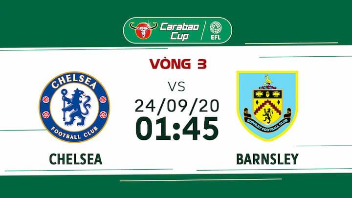 Bóng Đá: Chelsea vs Barnsley