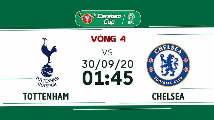 Bóng Đá: Tottenham vs Chelsea