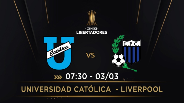 ⚽️ U.Católica - Liverpool