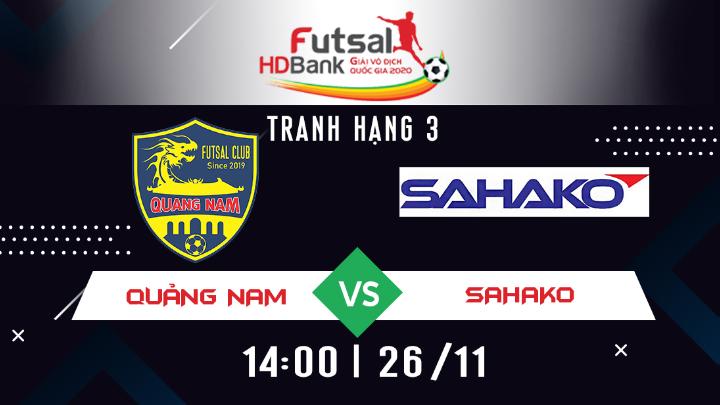 ⚽️ Quảng Nam vs Sahako