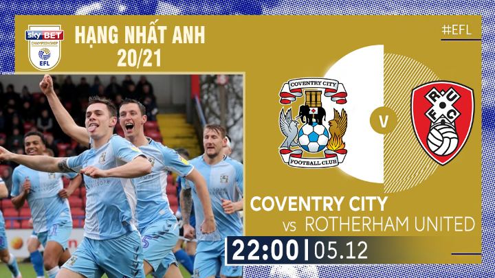 ⚽️ Coventry City vs Rotherham United