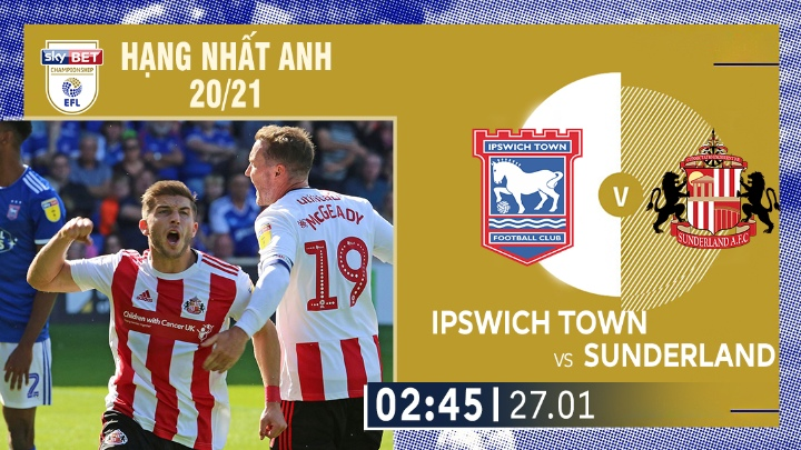 ⚽️ Ipswich Town vs Sunderland