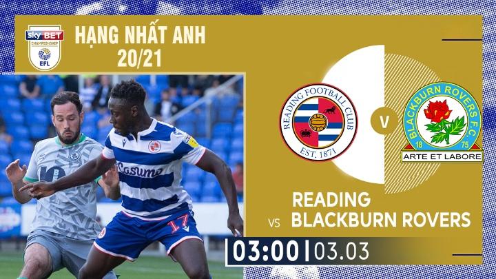⚽️ Reading vs Blackburn Rovers
