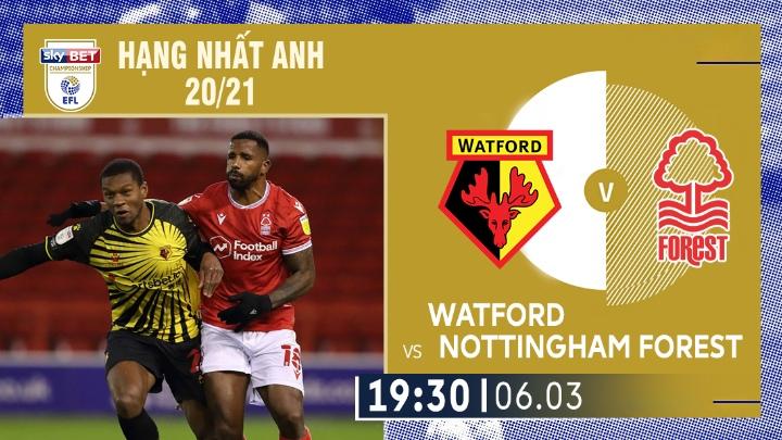 ⚽️ Watford vs Nottingham Forest