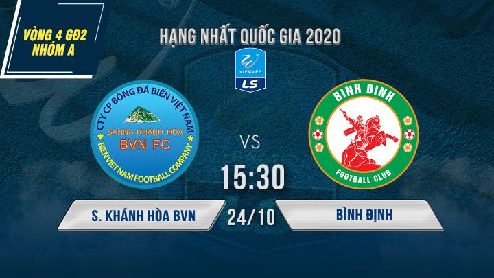 ⚽️ S. Khánh Hòa BVN vs Bình Định