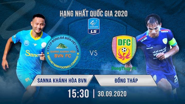 Bóng Đá: Sanna Khánh Hòa BVN vs Đồng Tháp