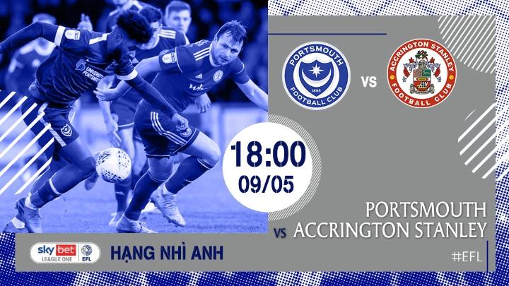⚽️ Portsmouth - Accrington Stanley