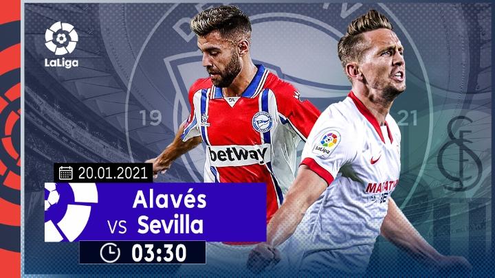 ⚽️ Deportivo Alavés vs Sevilla