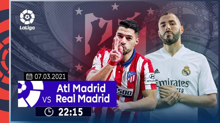 ⚽️ Atletico Madrid vs Real Madrid