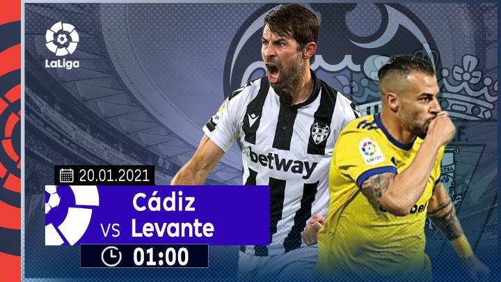 ⚽️ Cádiz vs Levante