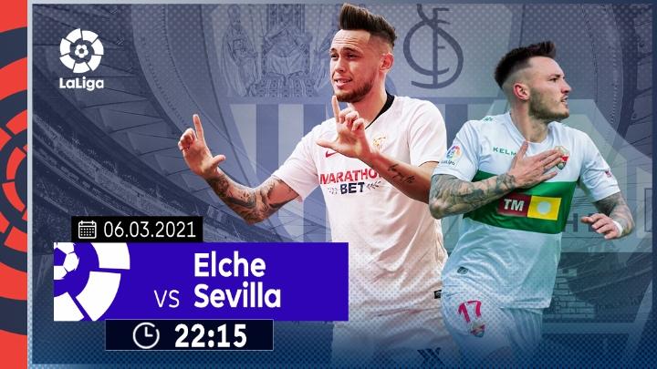 ⚽️ Elche vs Sevilla