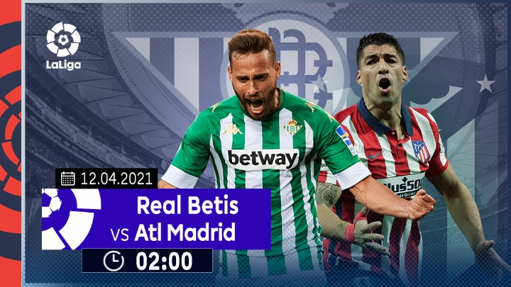 ⚽️ Real Betis vs Atletico Madrid