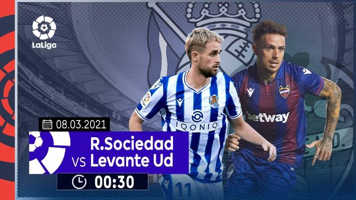 ⚽️ Real Sociedad vs Levante