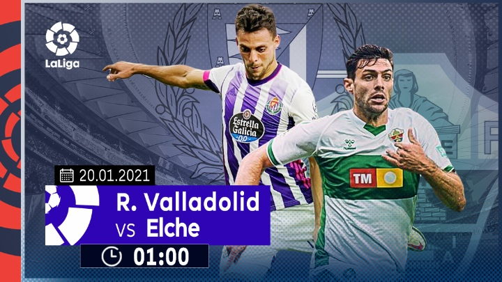⚽️ Real Valladolid vs Elche