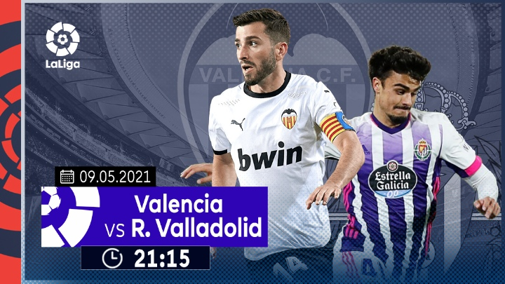 ⚽️ Valencia vs Real Valladolid