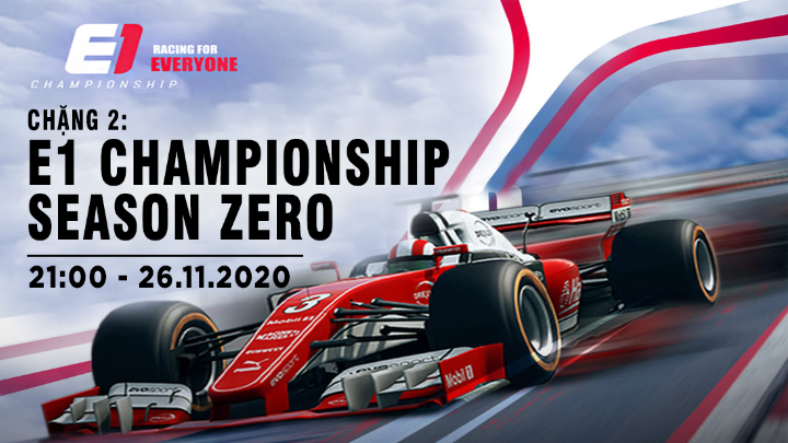 🏎 E1 Championship Season Zero