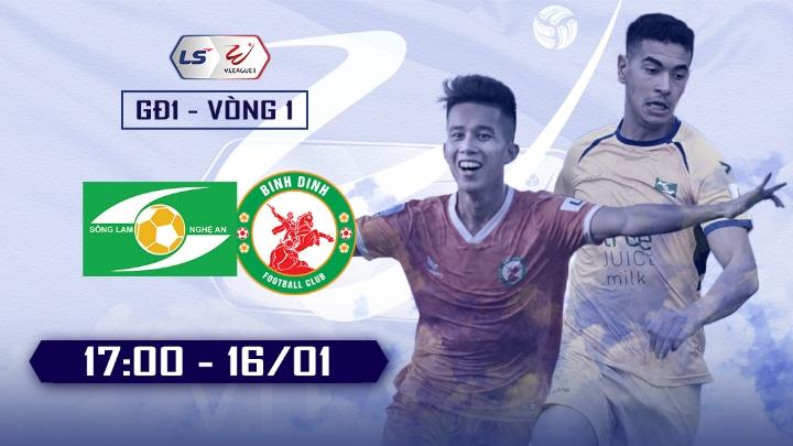 ⚽️ SLNA vs Topenland Bình Định
