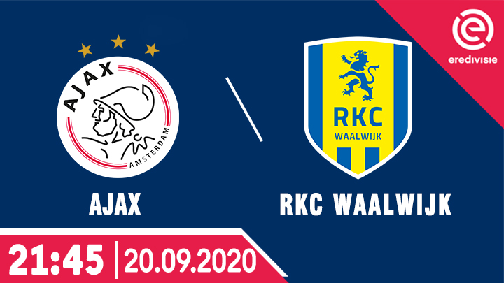 Bóng Đá: Ajax vs RKC Waalwijk