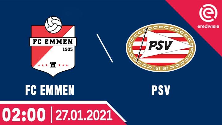 ⚽️ FC Emmen vs PSV