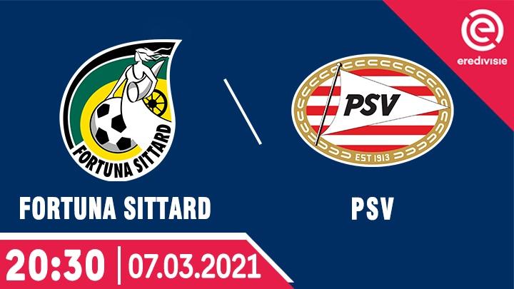 ⚽️ Fortuna Sittard - PSV Eindhoven