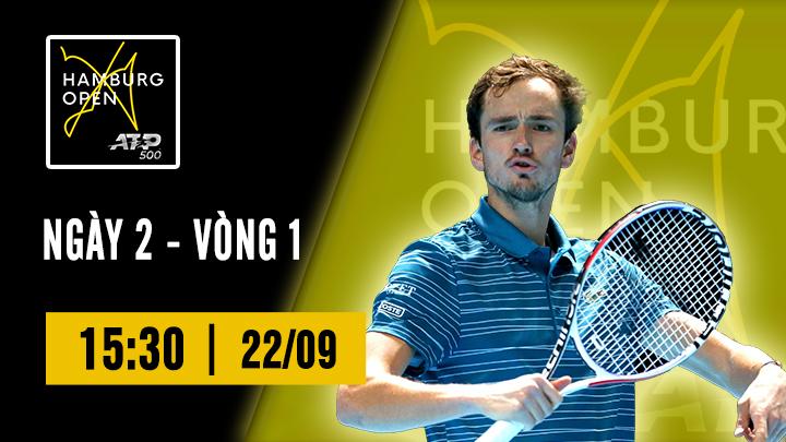 Tennis: ATP 500 Hamburg Ngày 2