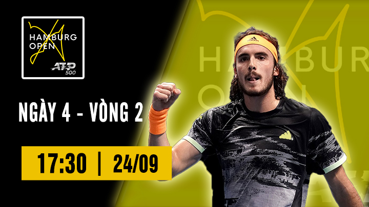Tennis: ATP 500 Hamburg Ngày 4
