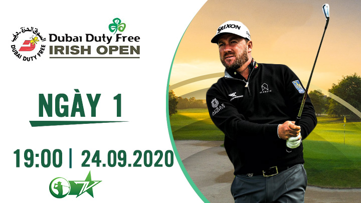 Golf: Dubai Duty Free Irish Open Ngày 1