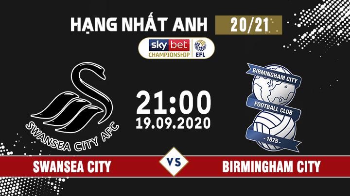 Bóng Đá HNA: Swansea City - Birmingham City
