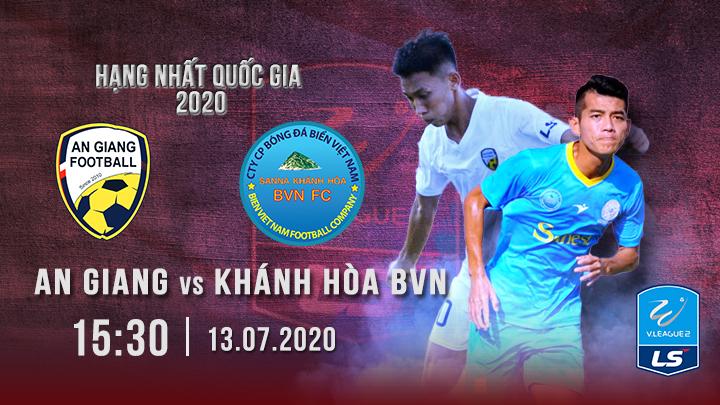 An Giang vs S.Khánh Hòa BVN