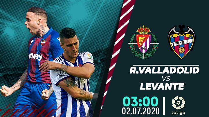 Real Valladolid vs Levante
