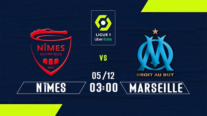 ⚽️ Nîmes vs Marseille