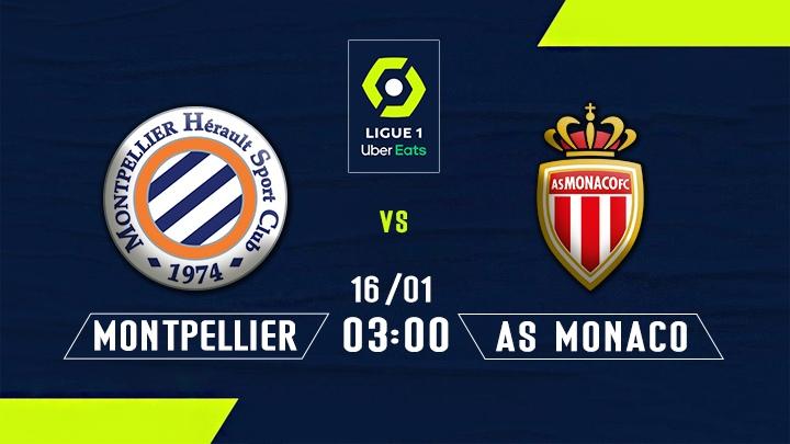 ⚽️ Montpellier HSC vs AS Monaco