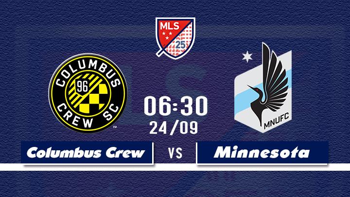 Bóng Đá MLS: Columbus Crew - Minnesota