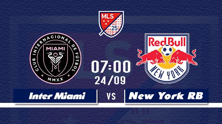 Bóng Đá MLS: Inter Miami - New York RB