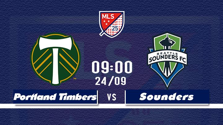 Bóng Đá MLS: Portland Timbers - Seattle Sounders