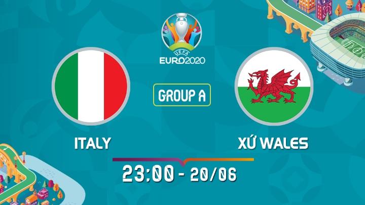 Italy - Xứ Wales