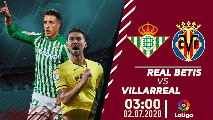 Real Betis vs Villarreal