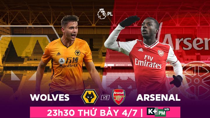 Wolverhampton Wanderers  -  Arsenal